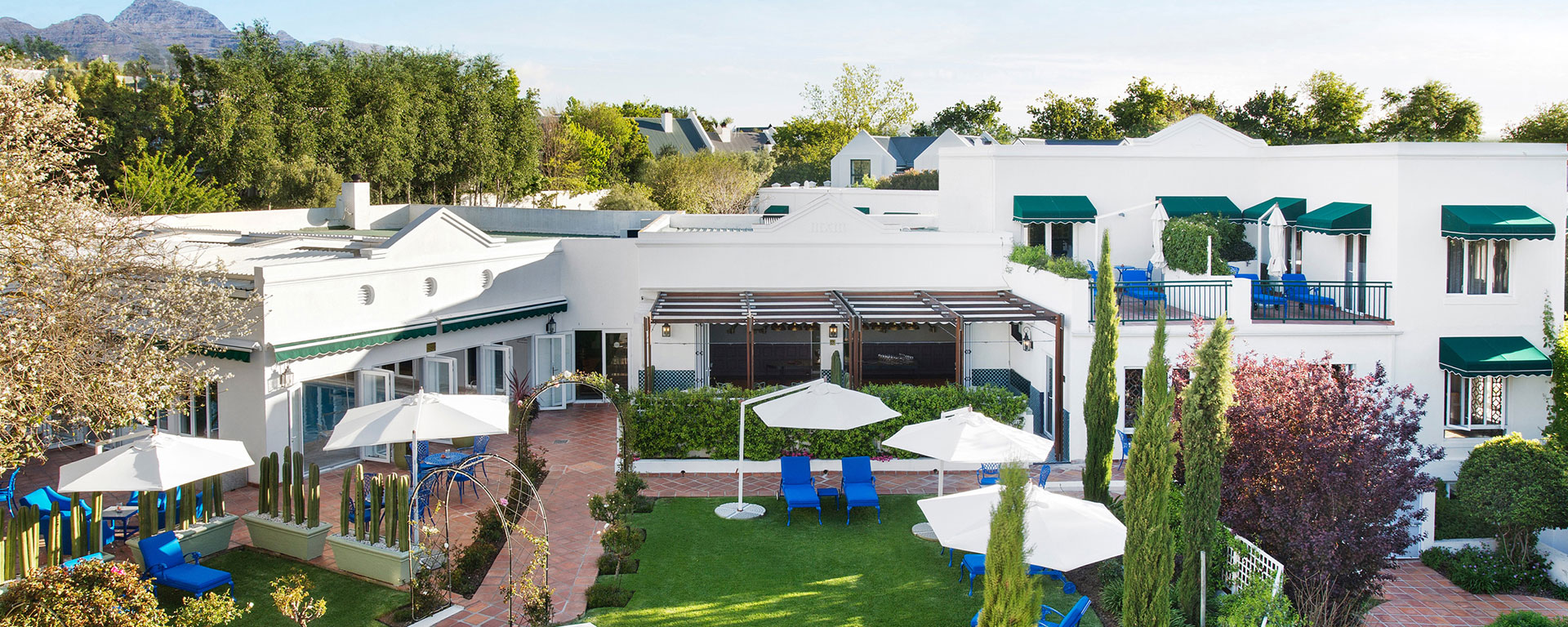 Majeka house 5 star boutique hotel in stellenbosch for Five star boutique